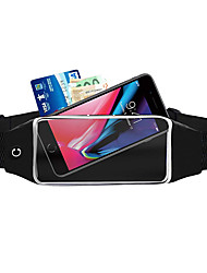 cheap -Unisex Bags Polyester Fanny Pack Solid Color Going out Outdoor 2021 Blue Black