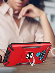 cheap -Phone Case For LG Back Cover K52 K42 K62 LG K50 K50S LG K61 K41S Shockproof Dustproof Ring Holder Solid Colored TPU