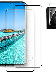 """cheap -[2+1] galaxy s21 ultra screen protector + camera lens film [scratch resistant] [9h hardness][3d full coverage] hd tempered glass protector, for samsung galaxy s21 ultra (6.8"""")"""