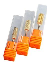 cheap -3 Sets Steel Nail Kits Durable Classic Cute Daily Nail Art Tool For Finger Nail Toe Nail