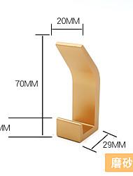 cheap -left aluminum alloy round head folding coat hook invisible hole-free row hook nail-free single hook wall-type black coat hook