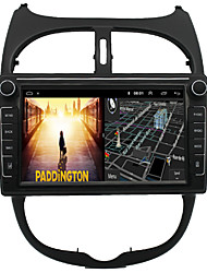 cheap -Android 9.0 Autoradio Car Navigation Stereo Multimedia Player GPS Radio 8 inch IPS Touch Screen for Peugeot206 CitroenC2 1G Ram 32G ROM Support iOS System Carplay