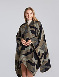 cheap -Blankets & Throws Camo / Camouflage Polyester / Acrylic Fibers Warmer Soft Comfy Blankets 130x150CM