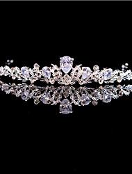cheap -S100 Princess Birthday Queen Crown Zircon Wedding Crown Bridal Headdress Wedding Hair Accessories Wedding Headdress