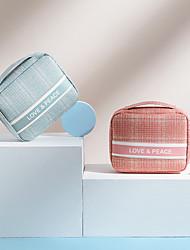 cheap -Storage Organization Cosmetic Makeup Organizer Mixed Material Rectangle Shape Portable 21*7*17cm
