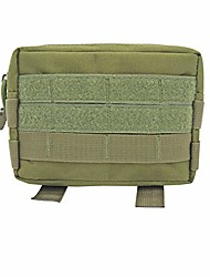 cheap -outdoor military molle utility edc tool waist pack tactical medical first aid pouch phone holder case hunting bag (c)