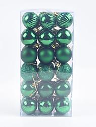 cheap -4cm 36 Pcs Christmas Balls Christmas Ornaments Christmas Tree Decorations Small Pendants