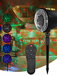 cheap -Projector Light Garden Lights Remote Controlled Laser Light Projector Smart App Control Christmas Party Wedding RGBW 4-in-1