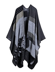 cheap -Classic leopard print plaid versatile scarf European and American national wind thick increase autumn winter and summer air conditioning cloak 130x150CM