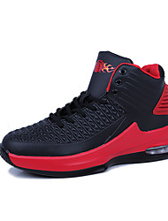 cheap -Men's Trainers Athletic Shoes Athletic Outdoor Basketball Shoes PU Red White Black Fall Spring