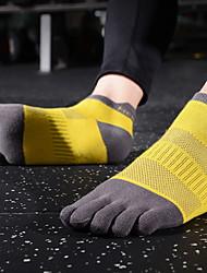 cheap -Comfort Sport Women's All Socks Multi Color Socks Sport Socks / Athletic Socks Medium Sport Yellow 1 Pair