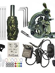 cheap -BaseKey Professional Tattoo Kit Tattoo Machine - 1 pcs Tattoo Machines, Professional Cast Iron 12 W Coil Tattoo Machine