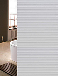 cheap -500*45cm Self-adhesive Frosted Line Glass Tape Office Transparent Opaque Waist Stripe Glass Film