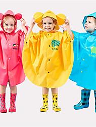 cheap -Kids Unisex Jacket & Coat Blue sheep Rose Red Hedgehog Upgraded version of blue sheep [big brim + free storage bag] Animal Rainy Days / Wet Road Casual Daily 2-6 Years
