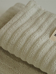 cheap -1 Pc 100% Cotton Premium Ring Spun Hand Kitchen Shower Towel(Set) Machine Washable Super Soft Highly Absorbent Quick Dry For Bathroom Hotel Spa Solid 75*150cm