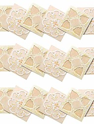 cheap -18pcs pet 3.9''x3.9'' 3d self-adhesive wall decoration simulation european geometric tile diy stickers, kitchen bathroom splash-proof bedroom living room decoration