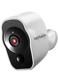 cheap -DIDSeth USB Charge Battery Powered 1080P Wireless IP Security Cameras WiFi HD Remote Monitoring Security Cameras Waterproof Indoor Outdoor Security Cameras