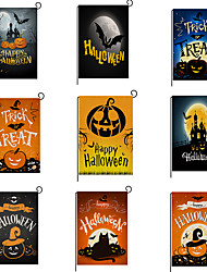 cheap -2019 new hot and hot halloween pattern double-sided printing garden flag factory direct sales support customized