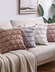 cheap -double-sided plush sofa pillow custom cross-border amazon new product office cushion pillow case solid color car cushion cover