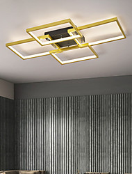 cheap -LED Ceiling Light 60/80 cm Circle Design Flush Mount Lights Aluminum Artistic Style Formal Style Modern Style Painted Finishes LED Modern 220-240V