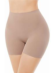 cheap -Seamless Shaping Boyshorts Panties for Women Tummy Control Shapewear Under Dress Slip Shorts Underwear