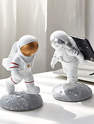 cheap -Desk Decoration Bedroom Living Room Desktop Simple Resin Astronaut Model Mobile Phone Stand Decoration