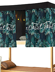 cheap -Bunk Bed Curtain Student Shading Summer Plants Easy Install Wholesale Thickening High Net