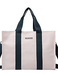 cheap -Women's Bags Canvas Top Handle Bag Zipper Daily Outdoor 2021 Canvas Bag Tote White Black Brown