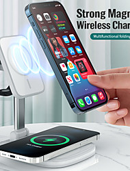 cheap -15 W Output Power USB USB C 3 in 1 Wireless Chargers Phone Charger Portable Charger For Cellphone Smart Watch
