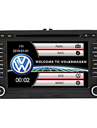 cheap -520WGNR04 7 inch 2 DIN Windows system In-Dash Car DVD Player Touch Screen Built-in Bluetooth for Volkswagen Support RDS /Steering Wheel Control / Subwoofer Output With HD Rearview Camera