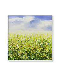 cheap -Oil Painting Handmade Hand Painted Wall Art Square Contemporary Abstract Landscape Home Decoration Decor Rolled Canvas No Frame Unstretched