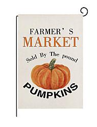 cheap -2021 new amazon cross-border thanksgiving garden flag pumpkin printed letters autumn outdoor garden decoration flag