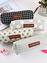 cheap -Pencil  pen  Case box back to school gift popular Simple Stationery Bag Holder zippe 21*7*4.5 cm