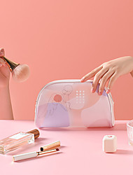 cheap -Storage Organization Cosmetic Makeup Organizer PU Leather Irregular shape Portable 21*13*8cm