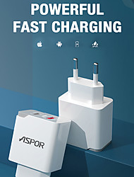 cheap -18 W Output Power USB Phone Charger Portable Charger Multi-Output Free Drive Durable Portable Charger For Universal Cellphone