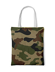 cheap -Canvas Shoulder storage bag back to school Halloween goody bag fashionable chic portable grocery shopping cloth book tote