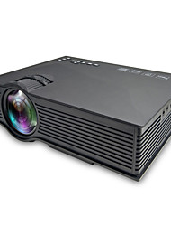 cheap -UC68 LCD Projector Built-in speaker WIFI Projector Keystone Correction Manual Focus WVGA (800x480) 3000 lm Compatible with iOS and Android TV Stick HDMI USB VGA