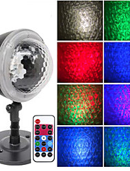 cheap -Projector Light Garden Lights Remote Controlled Laser Light Projector Waterproof Projector Christmas Party Bedroom Multi-colors