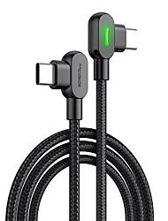 cheap -USB C Cable Braided High Speed Quick Charge 3 A 2.0m(6.5Ft) 1.5m(5Ft) Nylon For Samsung Xiaomi Huawei Phone Accessory