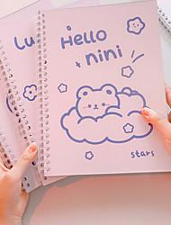 cheap -Cartoon Kawaii Journal Notebook back to school gift office Diary Planner Agenda Sketchbook Suitable 25.3*18.5cm