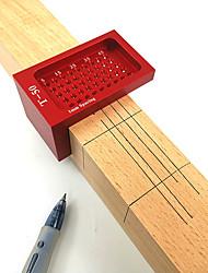 cheap -T50 Woodworking Ruler, Hole Ruler, Aluminum Alloy T-Shaped Ruler, Woodworking Ruler, Mini Ruler
