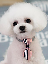 cheap -Dog Tie for Dogs, Pet Neck Tie with Adjustable Collar, Bulk Bow Ties Bowties Necktie Grooming Accessories for Girl Boy Dog Valentines Holiday Festival Birthday Wedding Costumes