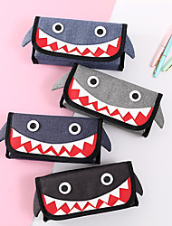 cheap -Pencil  pen  Case box back to school gift Cute Cartoon Simple Stationery Bag Holder zippe  21.2*10*6.3 cm