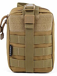 cheap -first aid pouch, rip away emt pouch tactical medical molle pouch for hiking camping trekking hunting (khaki)