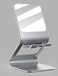 cheap -Phone Holder Stand Mount Desk Phone Holder Gravity Type Aluminum Alloy Phone Accessory iPhone 12 11 Pro Xs Xs Max Xr X 8 Samsung Glaxy S21 S20 Note20