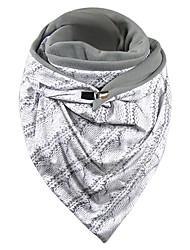 cheap -Women's Infinity Scarf Dailywear White Scarf Print