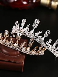 cheap -Crown Headdress Super Fairy Crystal Bride Wedding Dress Accessories 18th Birthday Wedding Crown