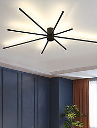 cheap -LED Ceiling Light 45 cm Dimmable Globe Design Circle Design Flush Mount Lights Acrylic Artistic Style Formal Style Modern Style Black Artistic Nordic Style 220-240V