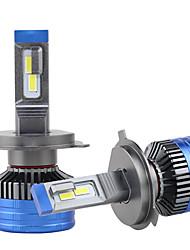 cheap -2pcs 3 Colors in one H4 LED Headlight Car Bulb 3000K 4300K 6000K H1 H3 H27 9005 9006 HB3 HB4 H11 LED Fog Lamp