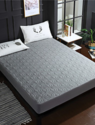 cheap -Cotton Waterproof Fitted Sheet solid color Simmons protective cover non slip and dustproof thin bed cushion cover bedspread customized wholesale